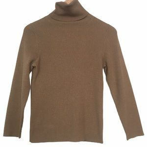 Holt Renfrew Long Sleeved Wool Turtleneck Sweater